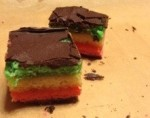 Seven Layer Italian Rainbow Cookies Teenage Cakeland
